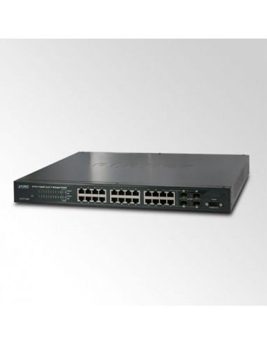 WGS3-24000 PLANET Managed Gigabit Switch