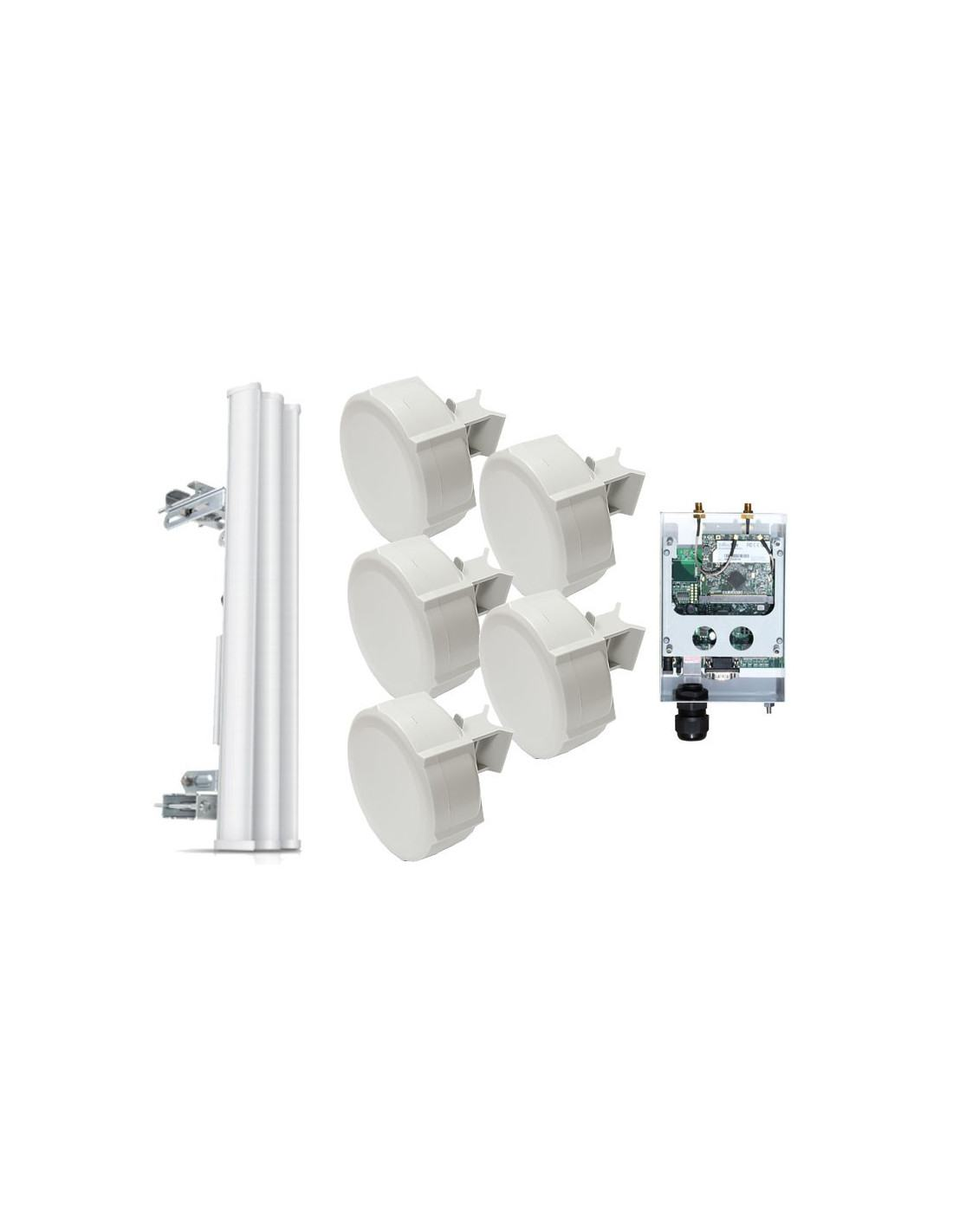 MikroTik PtMP Link Kit - 5 8GHz featuring TDMA NV2 300Mbps