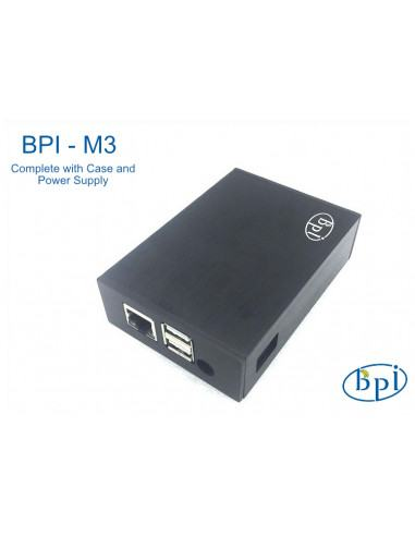 Banana Pi BPI-M3 Complete with Case and Power Supply