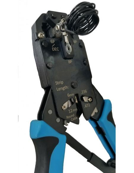 Crimp tool suitable for TC-CON-GND