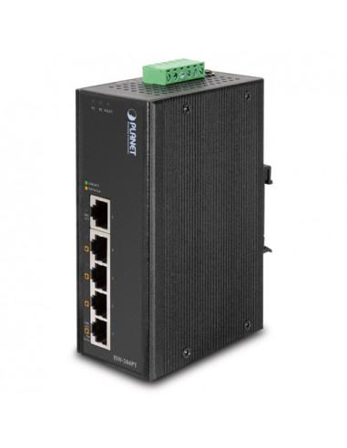 ISW-504PS PLANET Industrial Managed PoE Switch