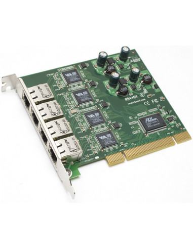 Mikrotik IN/G44V RouterBOARD 44GV PCI 4-port Gigabit Ethernet adapter