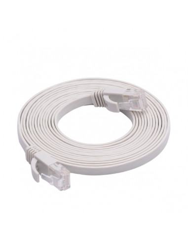 10 pack of patch ethernet cord 1m cat 5e WHITE