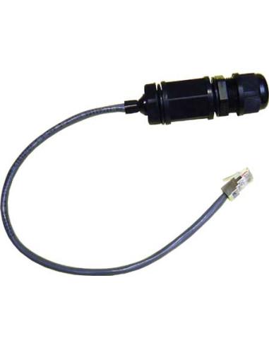 Patch ethernet cord 0.3m flat Superflex