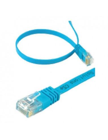 Patch ethernet cord 1m flat Superflex