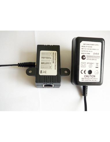 12V 1A POE adaptor with passive injector