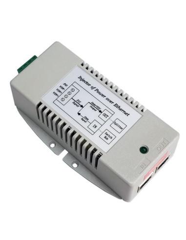 4-Port 802.3af Power over Ethernet Injector Hub POE-400