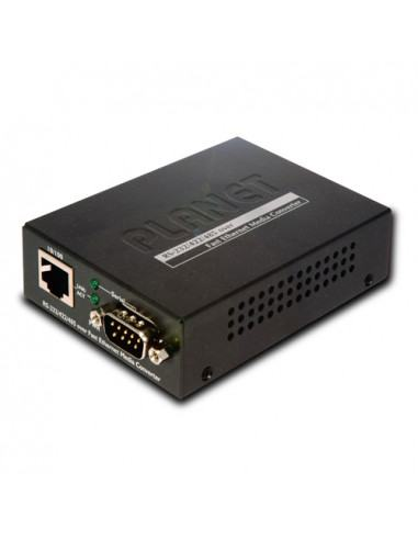 RS-232 / RS-422 / RS-485 over Fast Ethernet Media