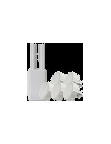 Jetway JBC362F36W 2600 Fanless Mini PC Intel N2600